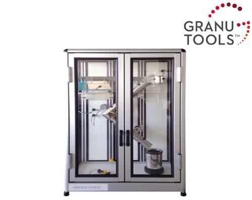 粉体摩擦帯電量測定装置 GRANUCHARGE