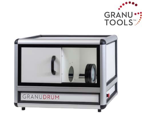 動的安息角測定装置 GRANUDRUM